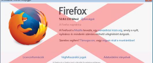Nem működik az IP kamera Firefox alatt