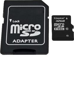 Kingston SD memóriakártya, 32GB, Class 10