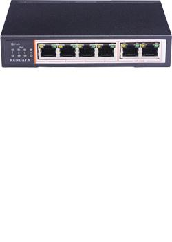 Rundata PS106 PoE Switch