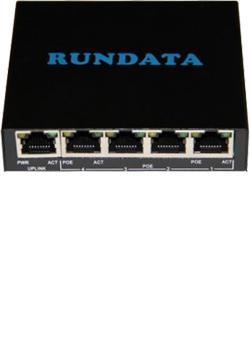 Rundata PS504 PoE Switch