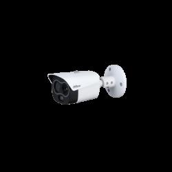 Dahua IP Bullet dual hőkamera - TPC-BF1241-D3F4 (256x192, 3,5mm / 4MP, 4mm, ICR, IR30m, IP67, WDR, audio, I/O, PoE)