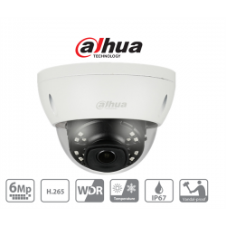 Dahua IP dómkamera - IPC-HDBW4631E-ASE (6MP, 3,6mm, kültéri, H265+, IP67, IR30m, ICR, WDR, SD, ePoE, I/O, audio, IK10)
