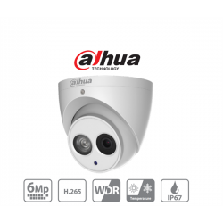 Dahua IP turretkamera - IPC-HDW4631EM-ASE (6MP, 3,6mm, kültéri, H265+, IP67, IR50m, ICR, WDR, SD, ePoE, Mikrofon, SD)