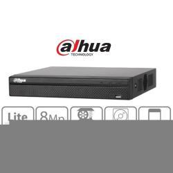 Dahua NVR Rögzítő - NVR2104HS-4KS2 (4 csatorna, H265, 80Mbps rögzítési sávszélesség, HDMI+VGA, 2xUSB, 1x Sata)