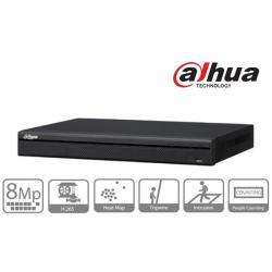 Dahua NVR Rögzítő - NVR4216-16P-4KS2 (16 csatorna, H265,200Mbps rögzítési sávszélesség,HDMI+VGA,2xUSB,2xSata,I/O,16xPoE)