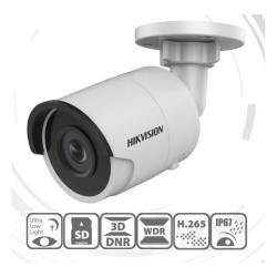 Hikvision IP csőkamera - DS-2CD2025FWD-I (2MP, 2,8mm, kültéri, H265/H265+, IP67, EXIR30m, D&N(ICR), 3DNR, WDR, SD, PoE)