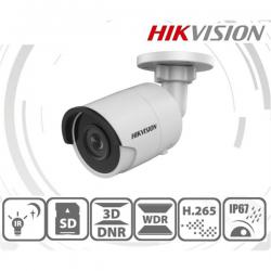 Hikvision IP csőkamera - DS-2CD2043G0-I (4MP, 2,8mm, kültéri, H265+, IP67, IR30m, ICR, WDR, 3DNR, SD, PoE)
