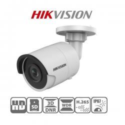 Hikvision IP csőkamera - DS-2CD2045FWD-I (4MP, 4mm, kültéri, H265+, IP67, IR30m, ICR, WDR, 3DNR, SD, PoE)