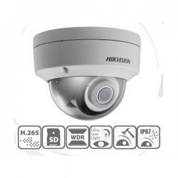 Hikvision IP dómkamera - DS-2CD2125FWD-IS (2MP, 6mm, kültéri, H265, IP67, EXIR30m, D&N(ICR), WDR, SD, PoE, IK10, I/O)