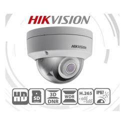 Hikvision IP dómkamera - DS-2CD2145FWD-IS (4MP, 4mm, kültéri, H265+, IP67, IR30m, ICR, WDR, SD, PoE, IK10, I/O, audio)
