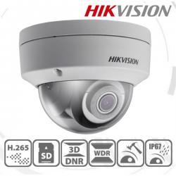 Hikvision IP dómkamera - DS-2CD2185FWD-I (8MP, 2,8mm, kültéri, H265+, IP67, IR30m, ICR, WDR, BLC, ROI, SD, PoE, IK10)