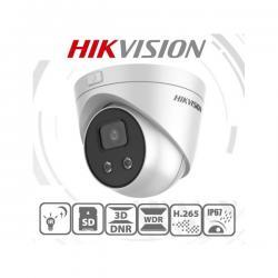 Hikvision IP turretkamera - DS-2CD2326G1-I (2MP, 4mm, kültéri, H265+, IP67, EXIR50m, ICR, WDR,3DNR,SD, PoE, Darkfighter)