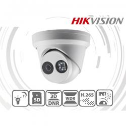 Hikvision IP turretkamera - DS-2CD2343G0-I (4MP, 2,8mm, kültéri, H265+, IP67, IR30m, ICR, WDR, 3DNR, SD, PoE)