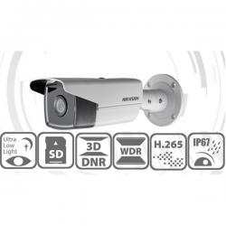 Hikvision IP csőkamera - DS-2CD2T25FWD-I5 (2MP, 4mm, kültéri, H265+, IP67, EXIR50m, D&N(ICR), 3DNR, WDR, SD, PoE)