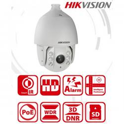 Hikvision IP dómkamera - DS-2DE7420IW-AE (4MP, 5,9-118mm, kültéri, ICR, IR150, DWDR, IP66, Audio, I/O, SD, HPoE)
