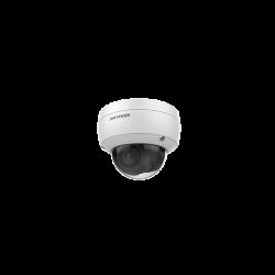 Hikvision IP dómkamera - DS-2CD2123G0-IU (2MP, 4mm, kültéri, H265+, IP67, IR30m, ICR, WDR, 3DNR, SD, PoE, IK10, audio)
