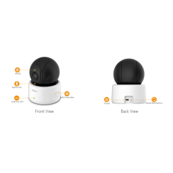 Imou IP wifi PT Dome kamera - RANGER (1MP, 2,8mm, beltéri, H264, IR10m, D&N(ICR), DWDR, SD, audio, 5VDC)